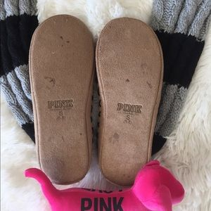 Pink Victorias Secret Shoes On Hold Vs Pink Mukluks Pom Sweater